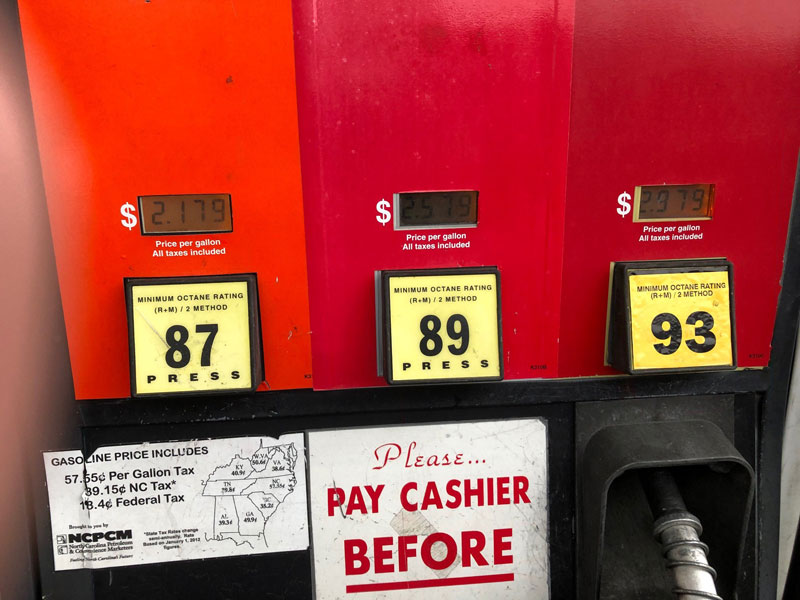 How to avoid infection at the gas pump